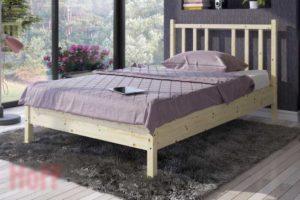 Кровать без подъёмного механизма Карелия в Хофф